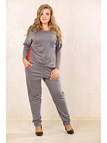 Женский спортивный костюм больших размеров (р. 48-72) арт. Лайм, фото 3