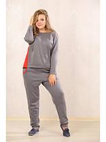 Женский спортивный костюм больших размеров (р. 48-72) арт. Лайм, фото 2