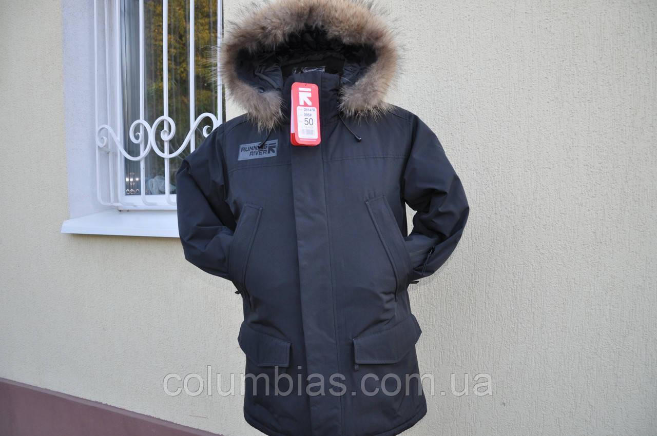 Куртка зимняя утепленная аляска ривер