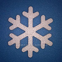 Снежинки из пенопласта SN-11 10*1 см