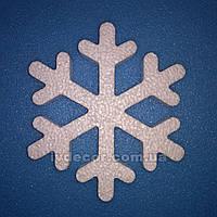 Сніжинки з пінопласту SN-11 10*1 см