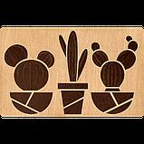 Органайзер для бисера с деревянной крышкой FLZB-064, фото 2