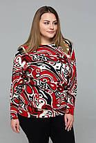 Модный женкий джемпер из притованной ангоры с 56 по 60 размер, фото 2