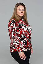 Модный женкий джемпер из притованной ангоры с 56 по 60 размер, фото 3