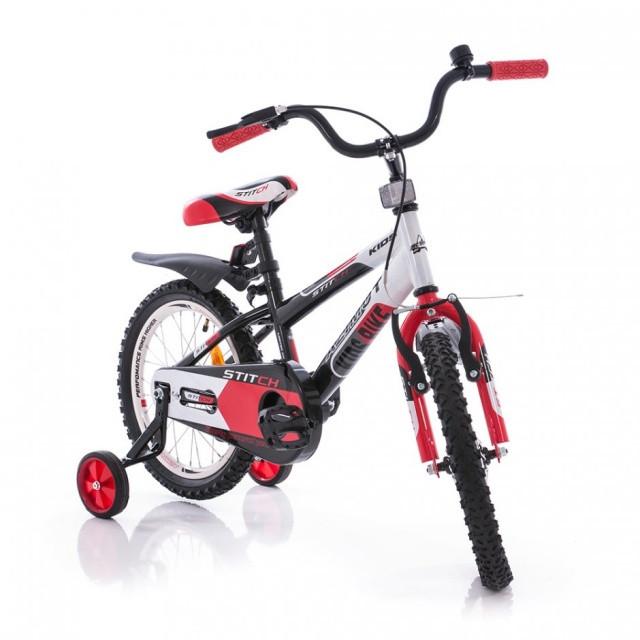 """Детский велосипед Azimut stitch премиум  18-дюймов - интернет магазин """"motowheels"""" в Харькове"""