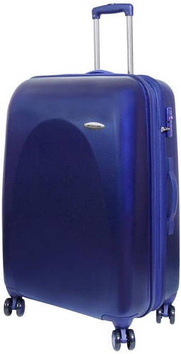 Большой чемодан Vip Collection Galaxy на 4-х колесах 116/135 л G.28.navy синий