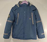 Куртка  новая спортивная для мальчика Размер 152