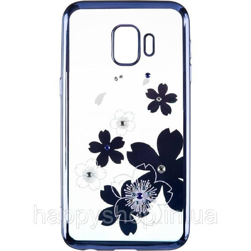 Силиконовый чехол Beckberg для Samsung Galaxy J2 Core (J260) Flowers