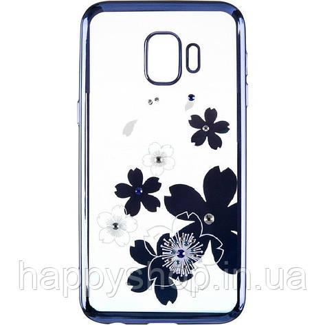 Силиконовый чехол Beckberg для Samsung Galaxy J2 Core (J260) Flowers, фото 2