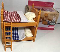 Мебель для флоксовых животных Спальня Happy Family B07 аналог Sylvanian Families