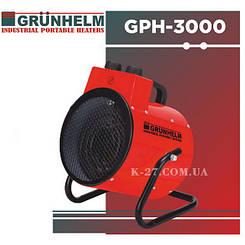 Тепловая пушка электрическая/тепловентилятор GRUNHELM GPH-3000