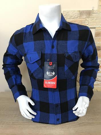 Детская кашемировая рубашка S.Besni 2-7, фото 2