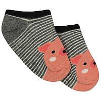 Детские антискользящие носки Свинка Berni