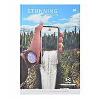 "Блокнот А4/160 7БЦ, фольга серебро, УФ выборка, мат.ламинация ""Stunning photo"" YES"