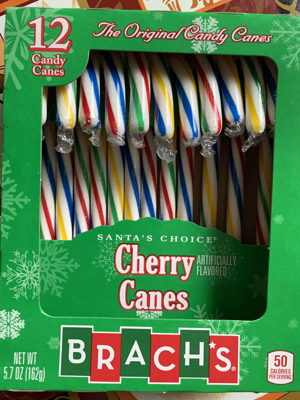 Вишневые конфеты-трости Candy Canes