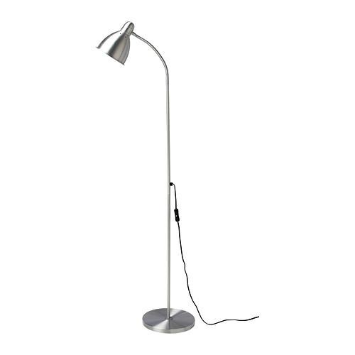 """IKEA """"ЛЕРСТА"""" Светильник напольн/для чтения, алюминий"""
