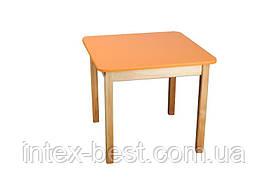 Деревянный (оранжевый) столик Bambi (Финекс Плюс)