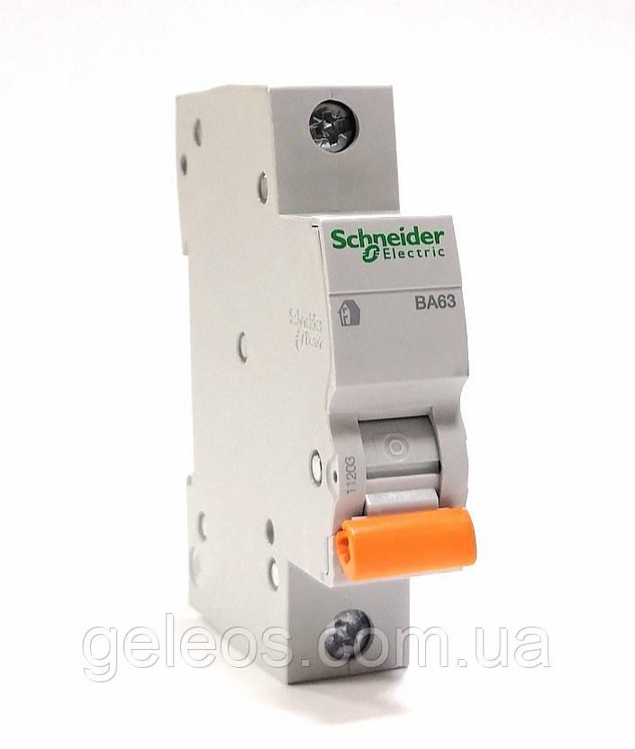 Автоматический выключатель 40А (ВА63 1п С) Shneider electric
