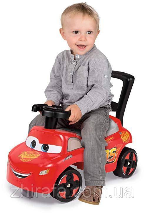 Машинка каталка толокар Cars 3  McQueen SMOBY 720523