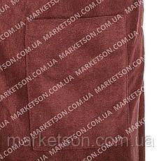 Рушник-кілт чоловічий, чоловіча спідниця в сауну. Мікрофібра 150х70, фото 3