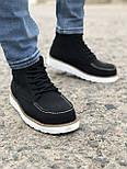 Ботинки - мужские ботинки на шнурках, фото 2