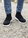 Ботинки - мужские ботинки на шнурках, фото 3