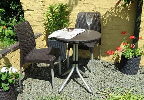 Набор садовой мебели Chelsea Set Brown ( коричневый ) из искусственного ротанга