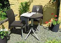 Набор садовой мебели Chelsea Set Brown ( коричневый ) из искусственного ротанга, фото 1