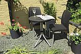 Набор садовой мебели Chelsea Set Brown ( коричневый ) из искусственного ротанга ( Allibert by Keter ), фото 9