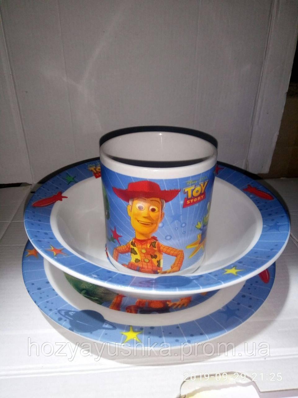 """Набор детской посуды """" Toy Story """""""