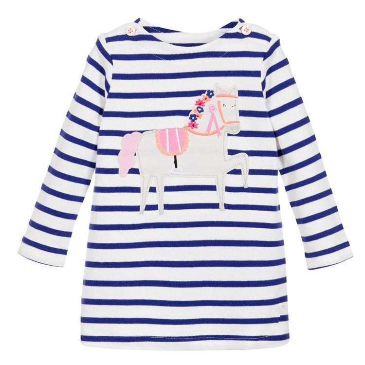 Платье для девочки Белый конь Jumping Meters