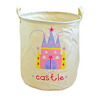 Корзина для игрушек, белья, хранения Замок Berni
