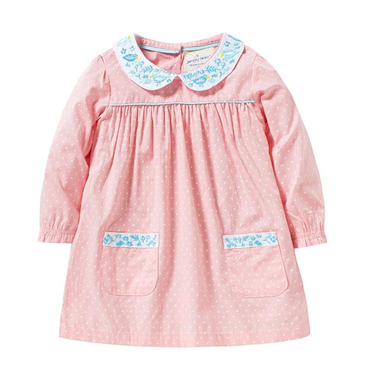 Платье для девочки Маленький горошей, розовый Jumping Beans, фото 1