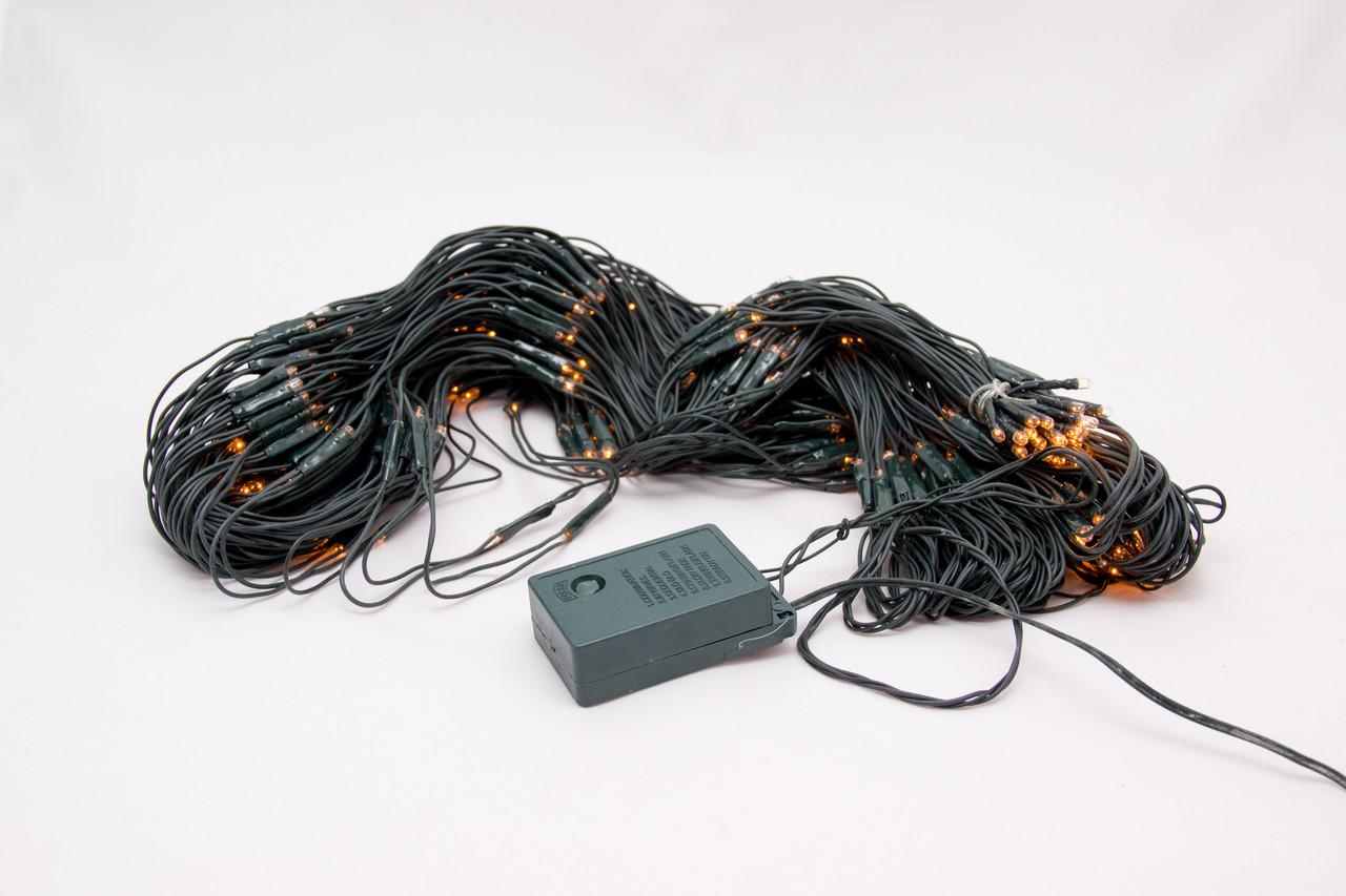 Светодиодная гирлянда сетка 3х2 м 400Л прозрачная (051281)