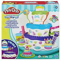 Пластилин Play Doh Праздничный торт от hasbro, фото 1