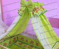 Детское постельное белье. Балдахин - ткань-сетка., фото 1