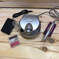 Фрезер для маникюра Nail Drill ZS-601 PRO (серебро) , 45 Вт, фото 1
