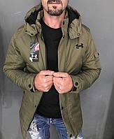 😜 Куртка мужская хаки водоотталкивающая (осень)