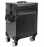Большой косметический чемодан - эко-кожа, фото 2