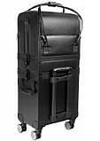 Большой косметический чемодан - эко-кожа, фото 8