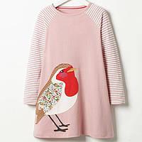 Платье для девочки Маленькая птица Jumping Meters