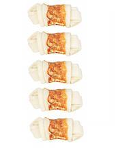 Кость для чистки зубов с курицей Trixie 31321 DENTAfun 5 см 5 шт.