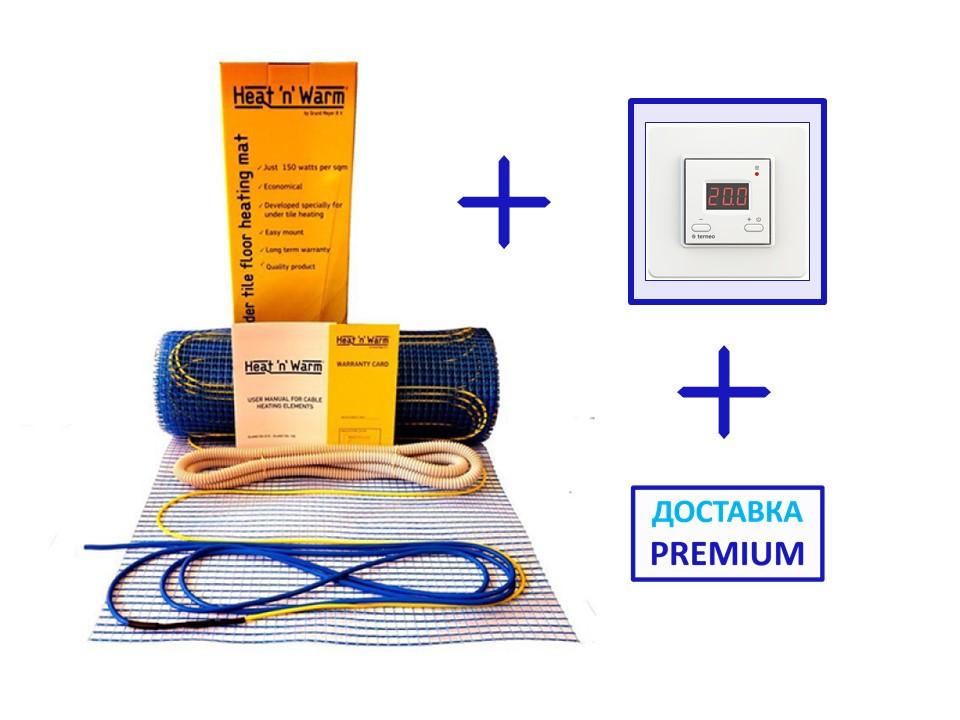 Нагревательный мат Grand Meyer 9 м2 (под стяжку или плитку)(комплект з цифровым регулятором)
