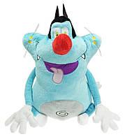 Мягкая игрушка 38 см Кот по имени Огги мультфильмОгги и тараканыOggy et les Cafards cartoon ОС