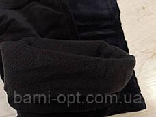 Утеплені вельветові штани на флісі для хлопчиків оптом, Seagull, 134-164 рр., фото 3