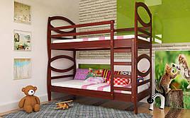 Двухъярусная кровать Наутилус 80х190 см. ЧДК