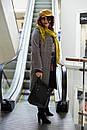 Женское пальто серое  из шерсти Modna KAZKA , фото 3