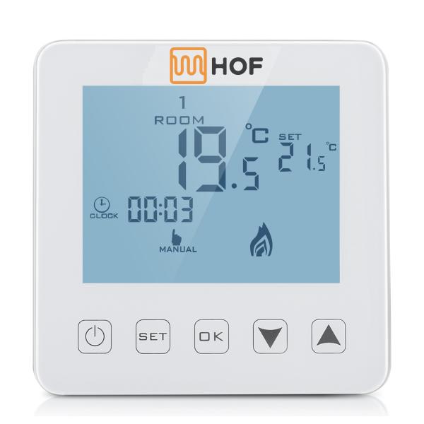 Сенсорный программируемый терморегулятор HOF sen