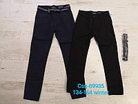 Утепленные брюки на флисе для мальчиков оптом, Seagull, 134-164 рр.
