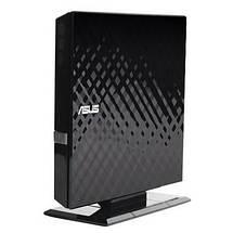 Внешний дисковод для ноутбука ASUS DVD+/-RW, USB 2.0 (SDRW-08D2S-ULITE), переносной оптический привод, фото 3